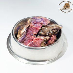 Обрезь говяжья мясная с санитарным клеймом